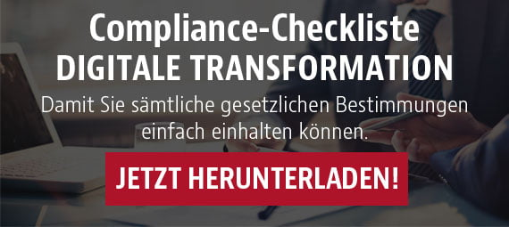 "Compliance-Checkliste ""Digitale Transformation"" herunterladen"
